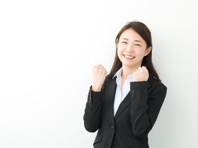 ガッツポーズ・ビジネスウーマン